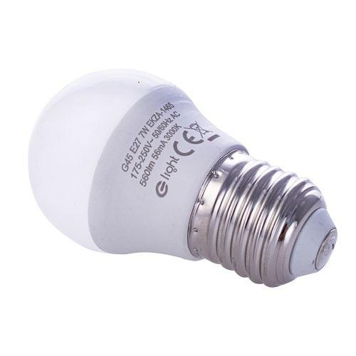 7 W žiarovka E27 G45. Farba: Teplá