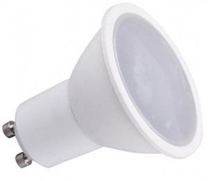 Biela sada. Stropný kruh Basic White + žiarovka 1,5 W žiarovka Gu10 small 1