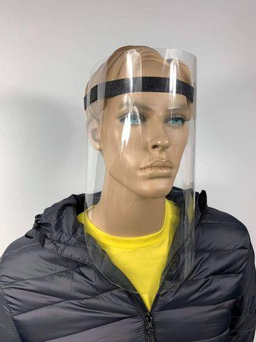 Ochranný štít tváre pre domácich miláčikov s opletenou páskou