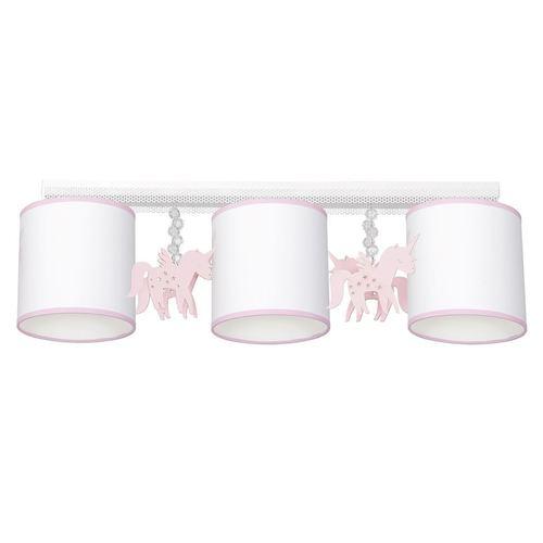 Biele stropné svietidlo Uni 3x E27