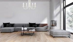 Klasické závesné svietidlo do obývacej izby Perła 5, závesné, biele small 1
