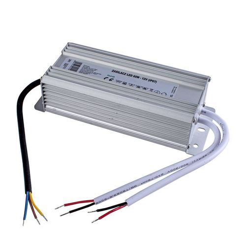 60W napájací zdroj Ip67 IP67 LED