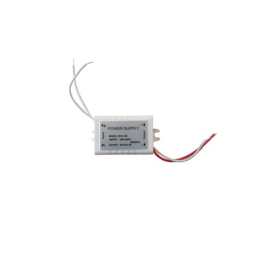 Strieborný LED napájací zdroj 6W IP44
