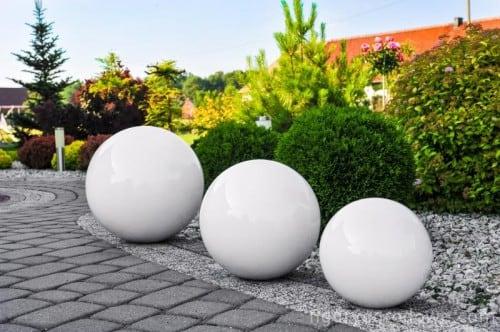 Dekoratívna záhradná lopta výber farieb 50 cm