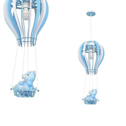 Závesné svietidlo Balonik Blue 1x E27 60 W