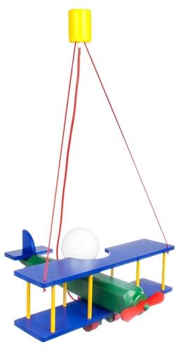 Závesná lampa pre dieťa, veľké Lietadlo 104.11.08