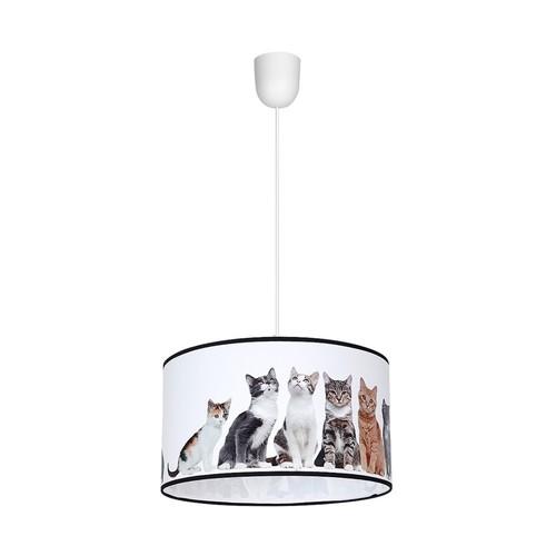 Závesná lampa Cats 1x E27