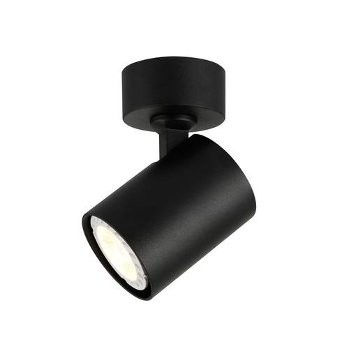Čierny moderný reflektor Lumsi GU10