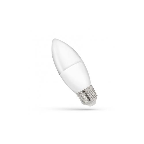 LED sviečka E-27 230v 1w Ww spektrum