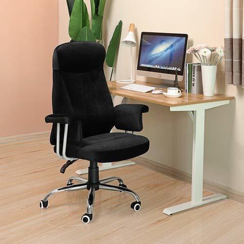 Elegantná kancelárska stolička OBG41B Velvet Fabric