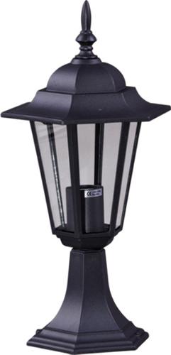 Nízka vonkajšia čierna stojaca lampa K-5009S zo série STANDARD