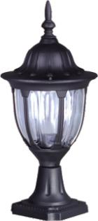 Nízka externá čierna stojaca lampa K-5007S2 / N zo série Vasco
