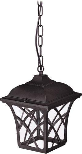 Závesné vonkajšie svietidlo K-5180H čierne zo série KERRY