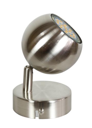 Nástenné svietidlo Balt 1 x max. 50 W gu10 saténové bez žiaroviek