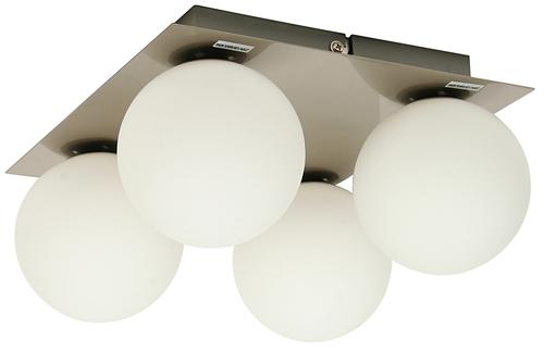 Stropné svietidlo Etiuda Plafond Quadruple Nickel Mat 4Xg9 / 40W 230V