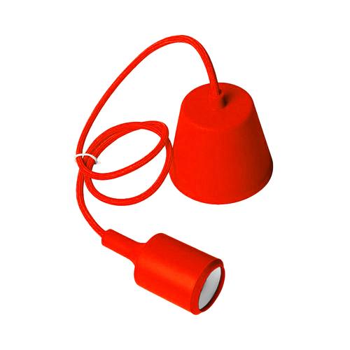 Stropné svietidlo Moderna E27 60W červené
