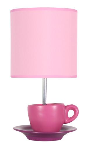 Zinková lampa do skrinky 1X60W E27 ružová