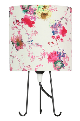 Micra skrinka lampa 1X40W E14 ružové kvety