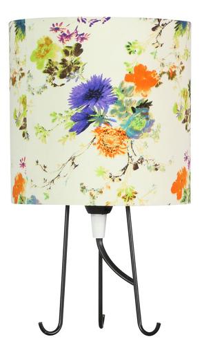 Micra skrinka lampa 1X40W E14 modré kvety