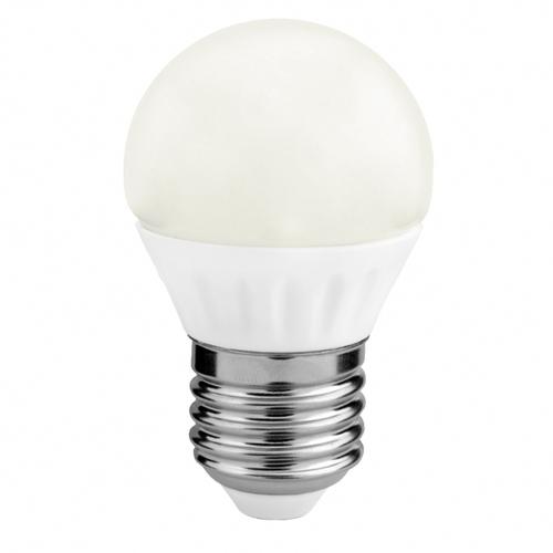 LED svetelný zdroj G45 4W E27 3000K