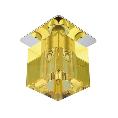 Sk-18 Ch / Ye G4 Chrome zapustený stropný konštantný kryštál 20W G4 žltý