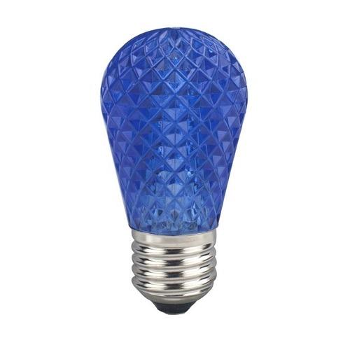 1W modrá žiarovka LED Garland