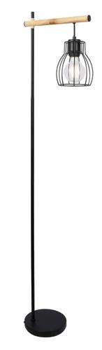 Bernita stojaca lampa 1X60W E27 čierna