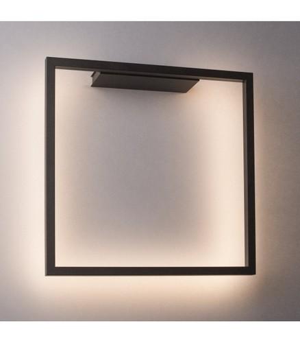 Moderné nástenné svietidlo AKIRA čierne