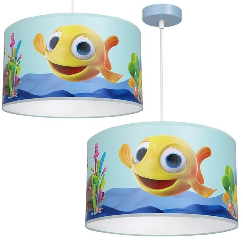 Závesná lampa Fish Mini 1x E27