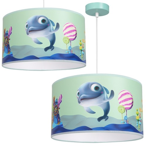 Závesná lampa Delfinka Finka Mini 1x E27