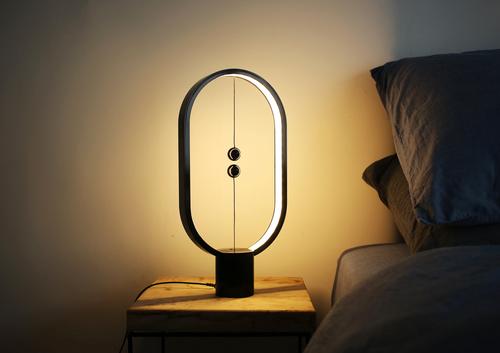 Stolová lampa Segula Black s magnetickým spínačom
