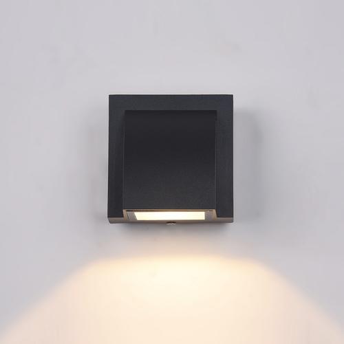 Moderné vonkajšie nástenné svietidlo Edgar LED