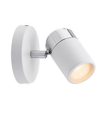 Bodové svetlo Zyli IP44 GU10 biela / chróm 230V
