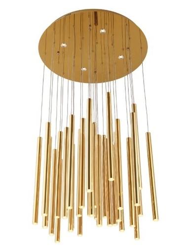 Organické zlato P0242 Závesná lampa P0242D Max. Svetlo