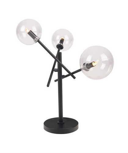 Stolná lampa LOLLIPOP T0043 ČIERNA Max. Svetlo