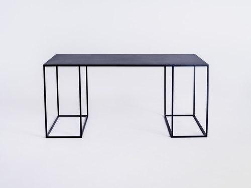 Konferenčný stolík TORGET METAL 100X60 - čierny