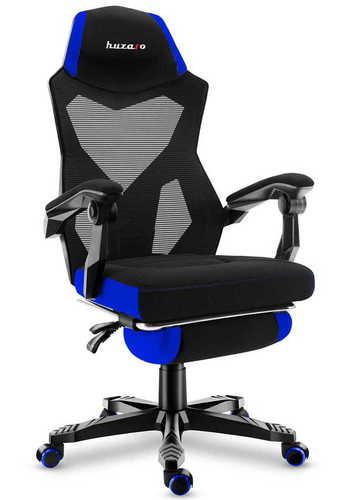 Ultra pohodlné herné kreslo HZ-Combat 3.0 Blue