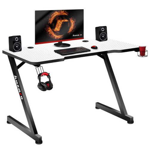 Ultramoderný herný stôl HZ-Hero 2.5 biely