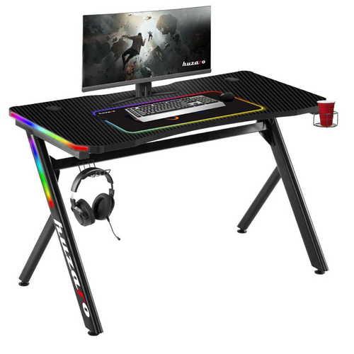 Ultramoderný herný stôl HZ-Hero 4.5 RGB Lit