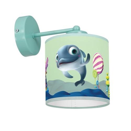 Nástenné svietidlo Delfinka Finka Mini 1x E27