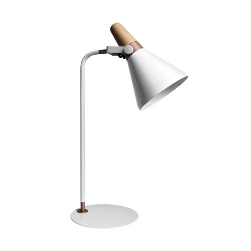 Stolná lampa H1833 biela / biela