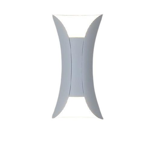 Vonkajšie nástenné svietidlo Abigali White IP65 2x5W 3000K