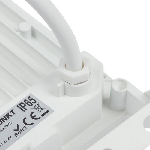 LED svetlomet Blaupunkt Strongbeam 20W IP65, prírodná farba