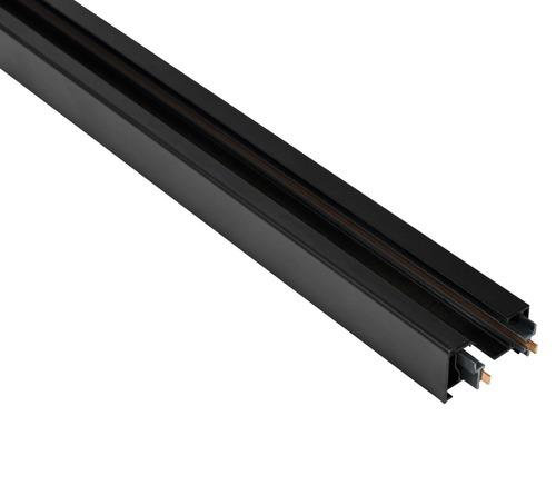 Blaupunkt 1-fázová koľajnica STORM, dlhá 1 m, s koncovkami, čierna farba
