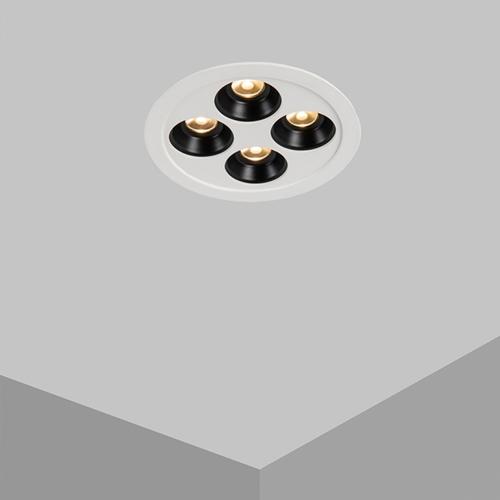 Zapustené stropné svietidlo DROP RD4