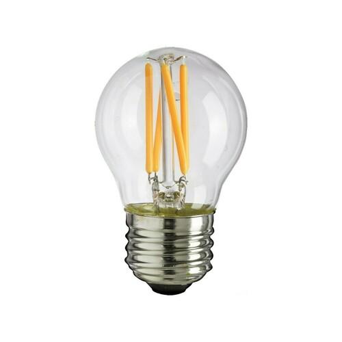 6W žiarovka s LED vláknom G45 E27 4000K