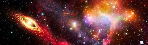 Fototapeta 3D, vesmír, Hviezdne vojny, hviezdy, mliečna dráha, asteroidy