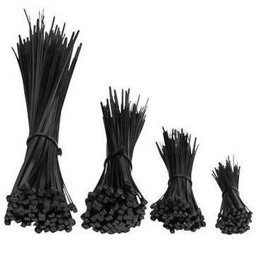 Káblová viazačka 250x3,6 čierna UV / 100ks /