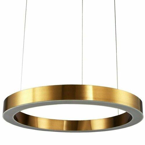 Závesné svietidlo CIRCLE 80 LED mosadz 80 cm