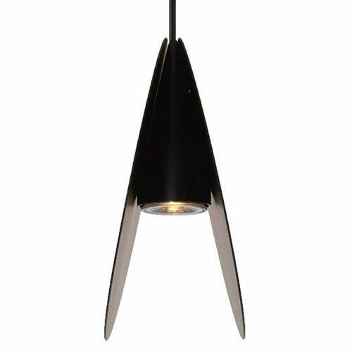 Závesná lampa PILLS L, čierna, 33 cm